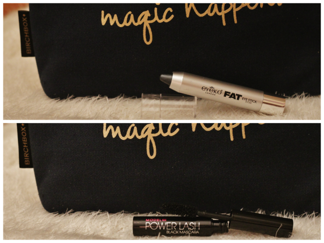 ModelCo Mascara and Eyeko Stick