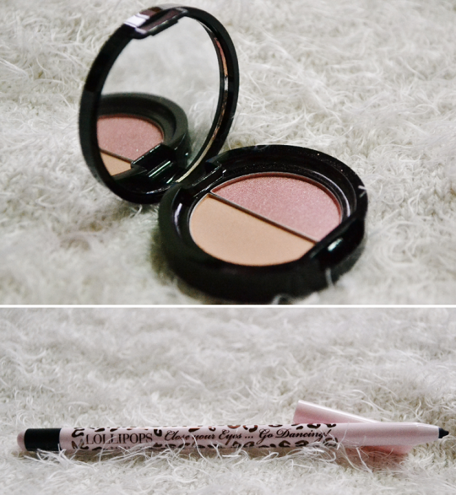 Bronzer-duo and Eye pencil