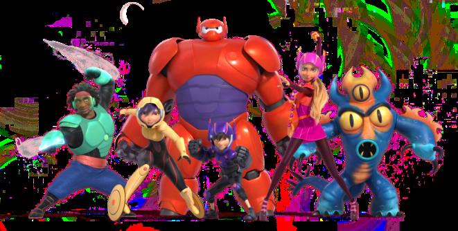 Big Hero 6 SuperHero Team