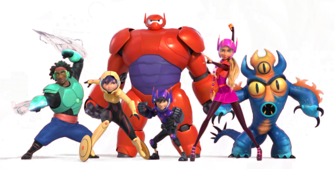 Big Hero 6 SuperHero Team