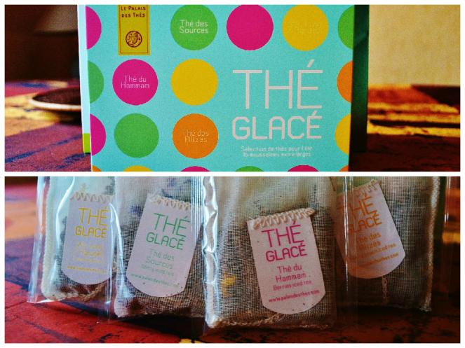 Iced Tea box and tea bags - Le Palais des Thés