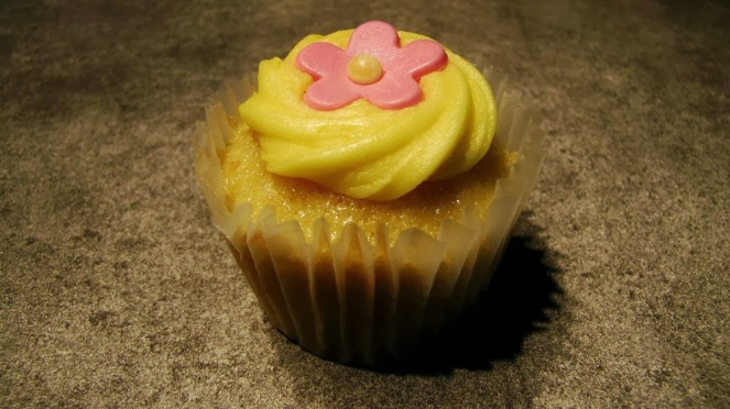Mark&Spencer Lemon Cupcake