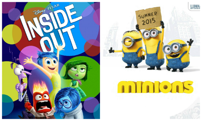Inside Out / The Minions - © DR