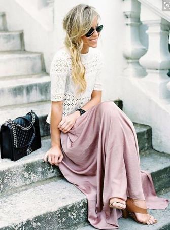look bohème chic printemps mode pinterest