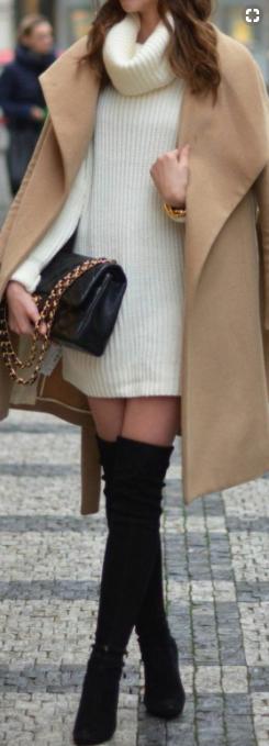 look hiver mode femme pinterest