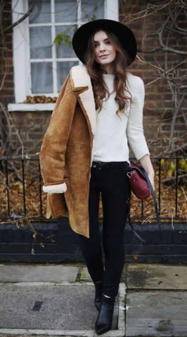 mode hiver pinterest femme look