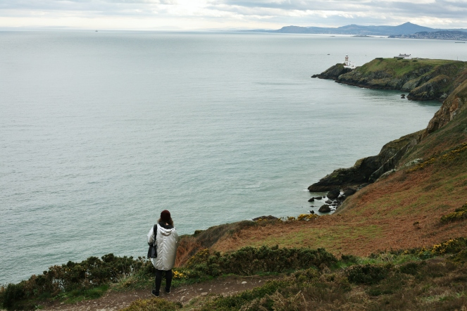 falaise howth cliff que faire en irlande