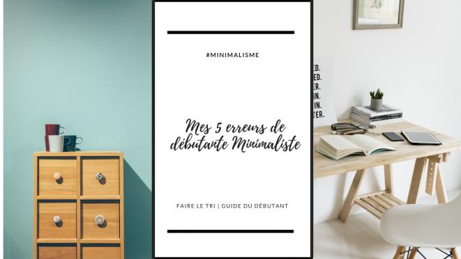 5 conseils pour débutant minimalisme